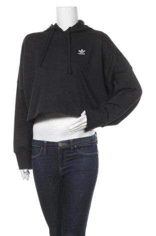 Дамски суичър Adidas Originals, Размер S, Цвят Черен, 70% памук, 30% полиестер, Цена 68,67лв.