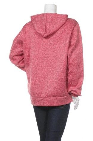 Дамски суичър Lee Cooper, Размер XL, Цвят Червен, Полиестер, Цена 32,40лв.