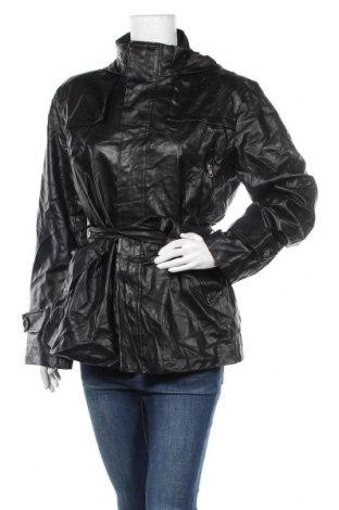 Γυναικείο δερμάτινο μπουφάν, Μέγεθος M, Χρώμα Μαύρο, Δερματίνη, Τιμή 9,32€