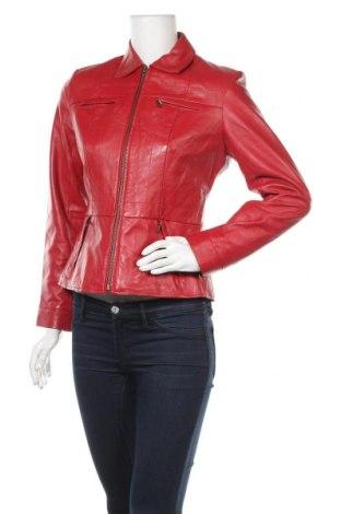 Γυναικείο δερμάτινο μπουφάν Alfani, Μέγεθος S, Χρώμα Κόκκινο, Γνήσιο δέρμα, Τιμή 31,24€