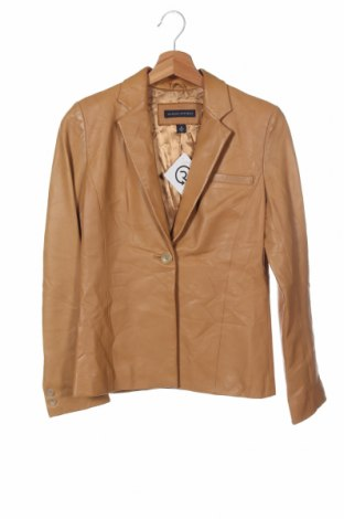 Дамско кожено яке Banana Republic, Размер XS, Цвят Кафяв, Естествена кожа, Цена 121,49лв.