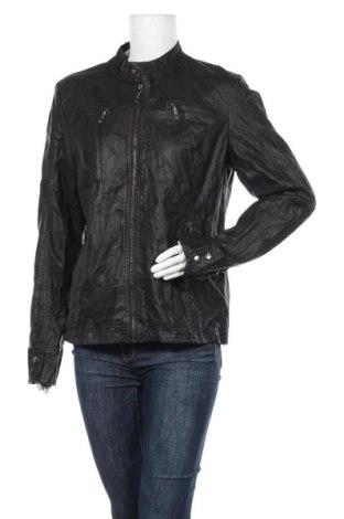 Дамско кожено яке Blind Date, Размер XL, Цвят Черен, Еко кожа, Цена 46,20лв.