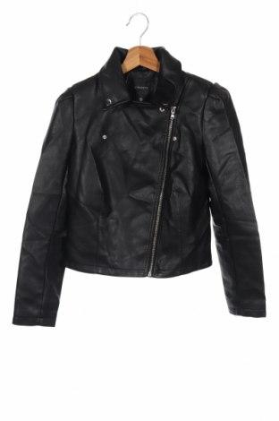 Дамско кожено яке Dynamite, Размер XS, Цвят Черен, Еко кожа, Цена 27,56лв.