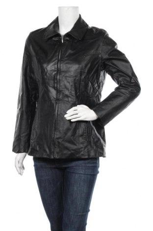 Дамско кожено яке In Puncto, Размер L, Цвят Черен, Естествена кожа, Цена 59,54лв.