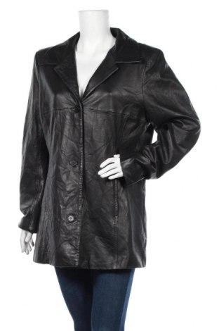 Дамско кожено яке Lady Hathaway, Размер XL, Цвят Черен, Естествена кожа, Цена 23,89лв.