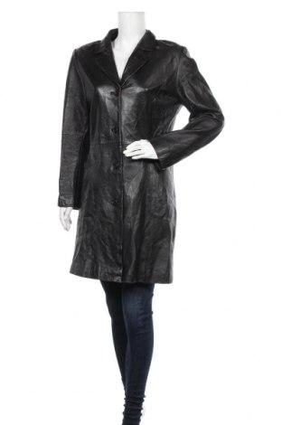Дамско кожено яке Maddox, Размер M, Цвят Черен, Естествена кожа, Цена 25,73лв.