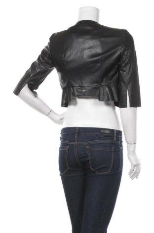 Дамско кожено яке Marciano, Размер M, Цвят Черен, Еко кожа, Цена 186,75лв.