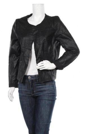 Дамско кожено яке My Hailys, Размер XL, Цвят Черен, Еко кожа, Цена 15,96лв.