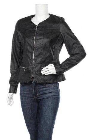 Γυναικείο δερμάτινο μπουφάν Zavanna, Μέγεθος M, Χρώμα Μαύρο, Δερματίνη, Τιμή 28,06€