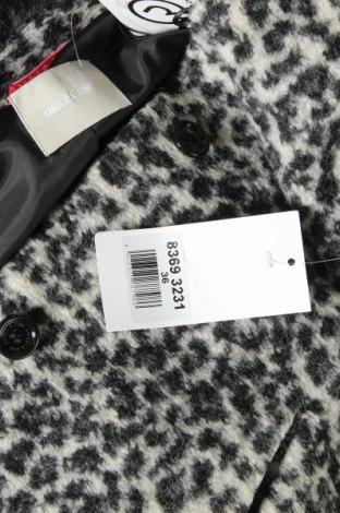 Дамско палто Amber & June, Размер S, Цвят Сив, 32% акрил, 32% полиестер, 12% вълна, 24% мохер, Цена 96,75лв.