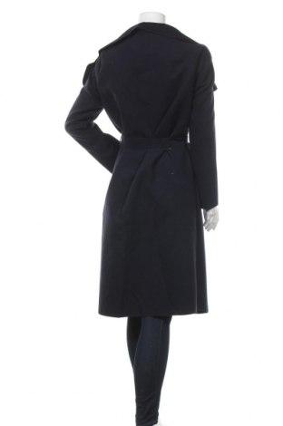 Дамско палто, Размер M, Цвят Син, 65% вълна, 30% полиестер, 5% еластан, Цена 84,00лв.