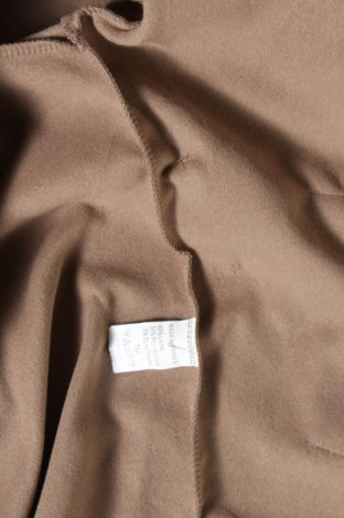 Дамско палто, Размер M, Цвят Кафяв, 65% вълна, 30% полиестер, 5% еластан, Цена 30,36лв.