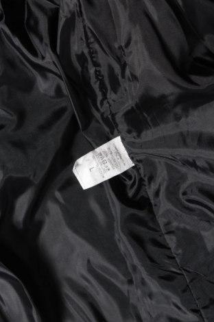 Дамско палто, Размер L, Цвят Черен, 80% полиестер, 20% вискоза, Цена 30,36лв.
