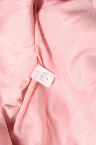 Дамско палто, Размер XL, Цвят Розов, 80% полиестер, 20% вискоза, Цена 36,80лв.