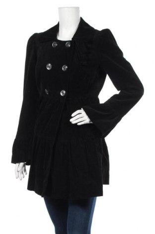 Дамско палто, Размер S, Цвят Черен, Памук, Цена 40,64лв.