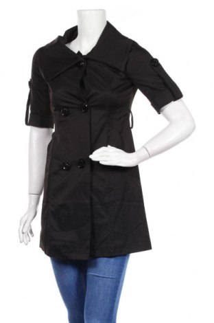 Дамско палто, Размер M, Цвят Черен, Цена 9,90лв.