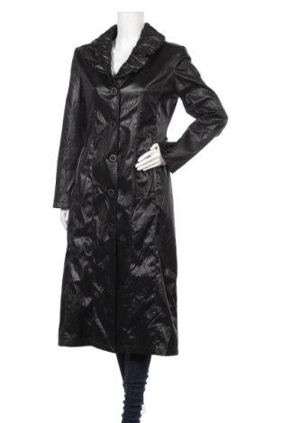 Дамско палто, Размер L, Цвят Черен, Цена 36,23лв.