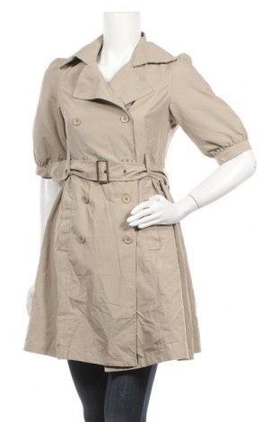 Дамско палто, Размер M, Цвят Бежов, Цена 30,71лв.