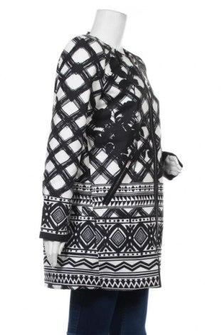 Дамско палто 101 Idees, Размер M, Цвят Черен, 90% полиестер, 10% еластан, Цена 81,75лв.