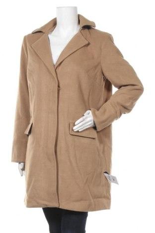 Γυναικείο παλτό Alcott, Μέγεθος XL, Χρώμα  Μπέζ, 90% πολυεστέρας, 10% βισκόζη, Τιμή 16,01€
