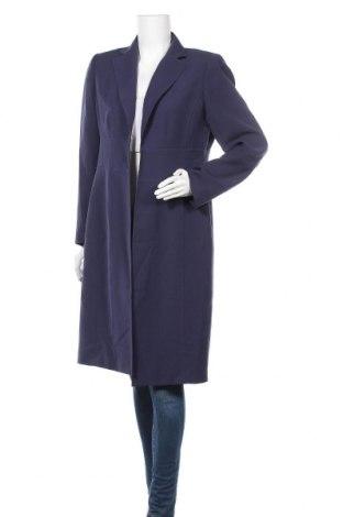 Дамско палто Anne Klein, Размер M, Цвят Син, Полиестер, Цена 66,36лв.