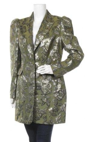 Γυναικείο παλτό Apart, Μέγεθος L, Χρώμα Πράσινο, 65% πολυεστέρας, 35% βαμβάκι, Τιμή 57,97€