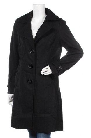 Дамско палто BanBat, Размер M, Цвят Черен, Полиестер, Цена 42,40лв.