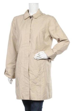 Дамско палто Eddie Bauer, Размер L, Цвят Бежов, 66% памук, 34% полиамид, Цена 11,55лв.