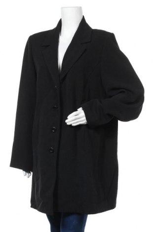Дамско палто Encore, Размер L, Цвят Черен, 63% полиестер, 33% вискоза, 4% еластан, Цена 29,61лв.