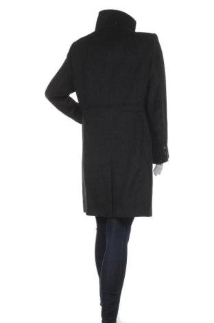 Дамско палто Esprit, Размер XL, Цвят Черен, 55% полиестер, 30% вълна, 6% акрил, 5% други тъкани, Цена 91,60лв.