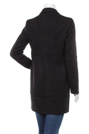 Дамско палто Even&Odd, Размер S, Цвят Черен, 95% полиестер, 5% еластан, Цена 46,87лв.