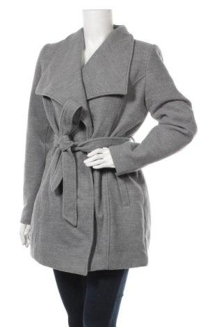 Дамско палто Every Day, Размер M, Цвят Сив, 90% полиестер, 9% вискоза, 1% еластан, Цена 16,80лв.