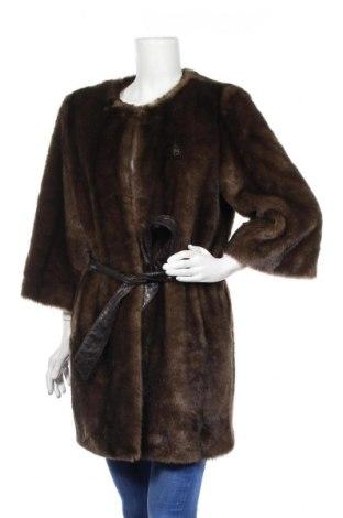 Дамско палто Gaudi, Размер XL, Цвят Кафяв, 100% полиестер, Цена 66,31лв.