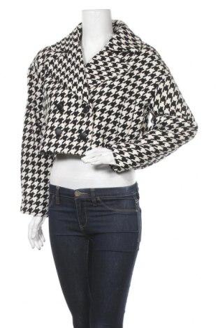 Γυναικείο παλτό Guido Maria Kretschmer, Μέγεθος M, Χρώμα Μαύρο, 49% πολυεστέρας, 33%ακρυλικό, 10% μαλλί, 7% πολυαμίδη, 1% ελαστάνη, Τιμή 21,57€