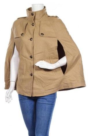 Дамско палто Hallhuber, Размер S, Цвят Кафяв, 70% вълна, 20% полиамид, 10% кашмир, Цена 27,20лв.