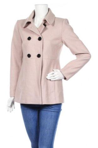 Дамско палто Hallhuber, Размер M, Цвят Пепел от рози, 75% вълна, 25% полиамид, Цена 41,40лв.