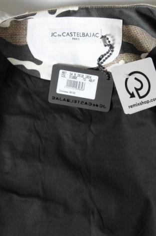 Дамско палто JC de Castelbajac, Размер M, Цвят Многоцветен, 60% лен, 40% полиестер, Цена 202,17лв.