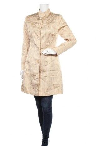 Дамско палто Kapalua, Размер M, Цвят Бежов, 70% ацетат, 23% полиамид, 7% еластан, Цена 42,53лв.