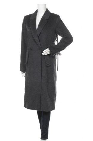 Дамско палто Khujo, Размер M, Цвят Сив, 48% полиестер, 41% вълна, 6% акрил, 5% други материали, Цена 137,70лв.