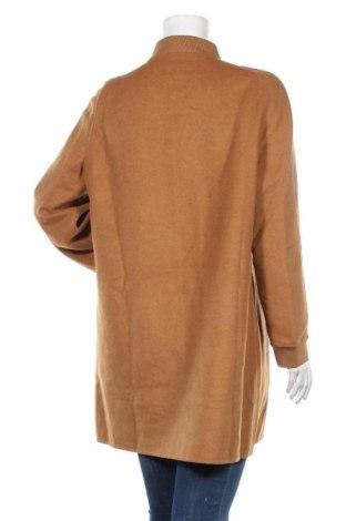 Дамско палто La Fiancee Du Mekong, Размер XL, Цвят Кафяв, 23% вълна, 72% полиестер, 3% полиестер, 2% акрил, Цена 59,60лв.