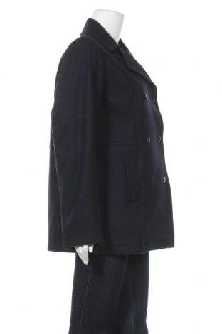 Дамско палто Le Phare De La Baleine, Размер L, Цвят Син, 60% вълна, 40% полиестер, Цена 52,25лв.