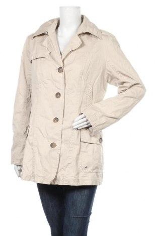 Дамско палто Marie Lund, Размер L, Цвят Бежов, Памук, Цена 10,76лв.
