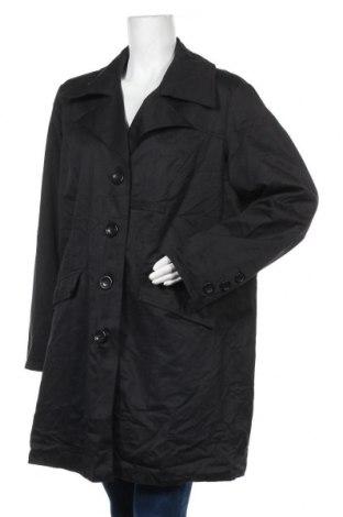 Дамско палто Maxi Blue, Размер XL, Цвят Черен, 46% полиестер, 43% памук, 11% полиамид, Цена 12,60лв.