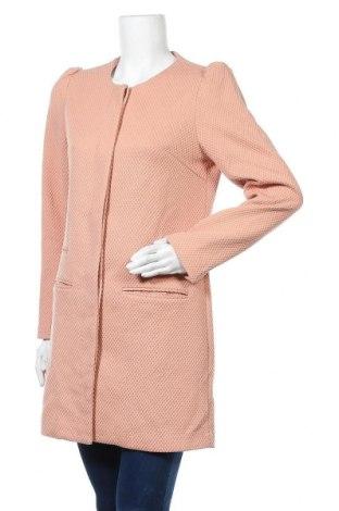 Дамско палто Mbym, Размер M, Цвят Розов, 80% полиестер, 20% вискоза, Цена 21,67лв.