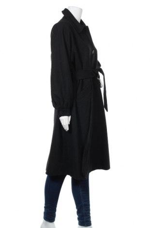 Дамско палто Monki, Размер M, Цвят Черен, 61% полиестер, 14% акрил, 12% вълна, 7% вискоза, 4% полиамид, Цена 96,75лв.