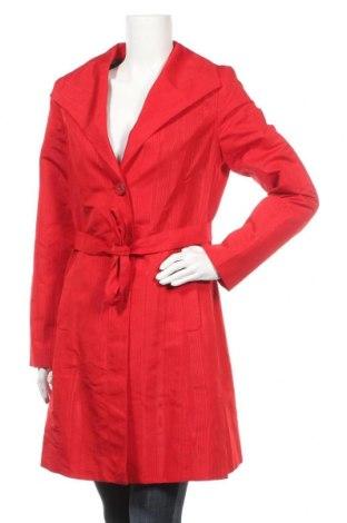 Дамско палто Mossimo, Размер M, Цвят Червен, Полиестер, Цена 12,29лв.