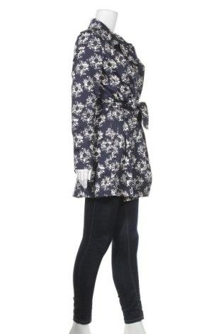 Дамско палто Myrine, Размер L, Цвят Син, 66% памук, 31% полиамид, 3% еластан, Цена 64,50лв.