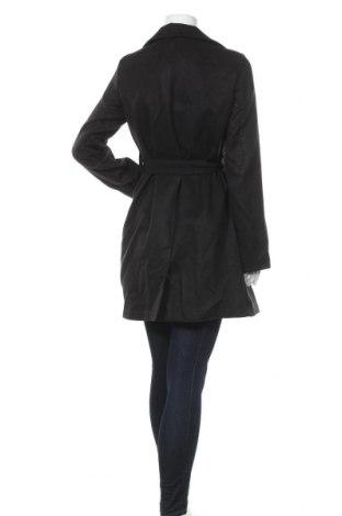 Дамско палто Naoko, Размер L, Цвят Черен, 70% вълна, 20% полиестер, 10% кашмир, Цена 51,60лв.