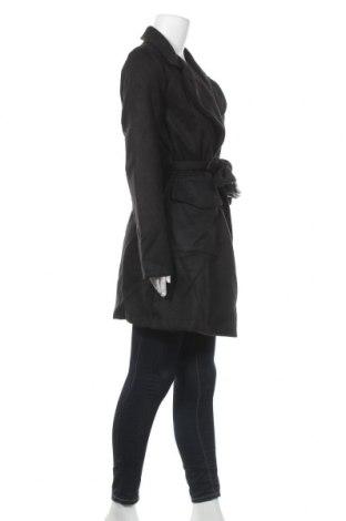 Дамско палто Naoko, Размер L, Цвят Черен, 70% вълна, 20% полиестер, 10% кашмир, Цена 38,70лв.