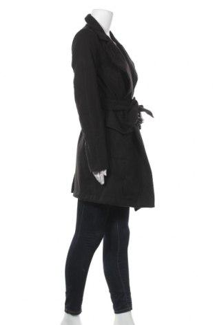 Дамско палто Naoko, Размер M, Цвят Черен, 70% вълна, 20% полиестер, 10% кашмир, Цена 51,60лв.